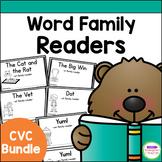 Emergent Readers - CVC word family books BUNDLE