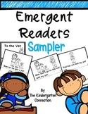 Emergent Readers - CVC word family books SAMPLE