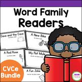 Emergent Readers - CVCe Word Family Books BUNDLE
