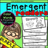Emergent Readers: Color Words {12 Books} Bundle