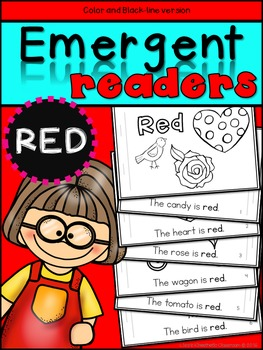 Emergent Readers: Color Words RED