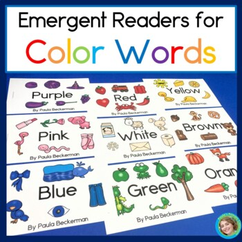 Color Words Emergent Readers for Guided Reading
