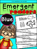 Emergent Readers: Color Words BLUE