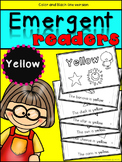 Emergent Readers: Color Words YELLOW
