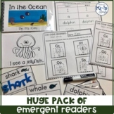 BUNDLE/ PACK of Themed Emergent Readers, Word Work & Writing Activities