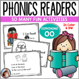 """Phonics Emergent Readers  {Diphthongs """"OO"""" - Short and Long Sounds}"""