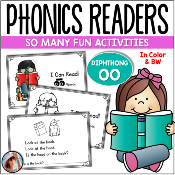 "Phonics Emergent Readers  {Diphthongs ""OO"" - Short and Long Sounds}"