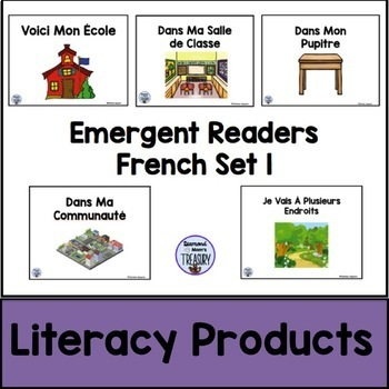 Emergent Readers French Set 1