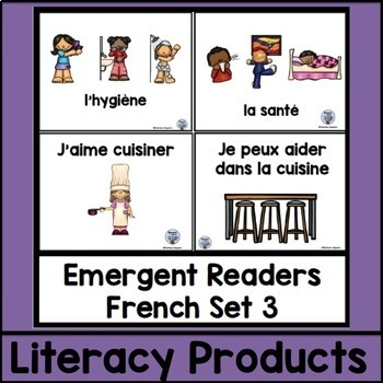 Emergent Readers French Set 3 bundle