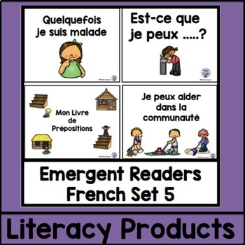 Emergent Readers French Set 5 bundle