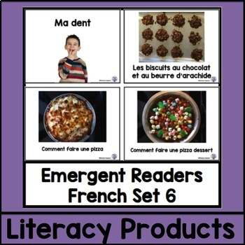 Emergent Readers French Set 6 bundle