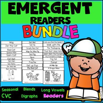 Emergent Readers Growing Bundle