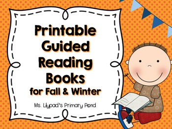Guided Reading Books for Fall and Winter