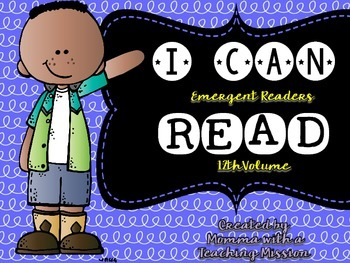 Emergent Readers I can Read Vol 12