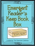 Emergent Reader's Keep Book Box Project
