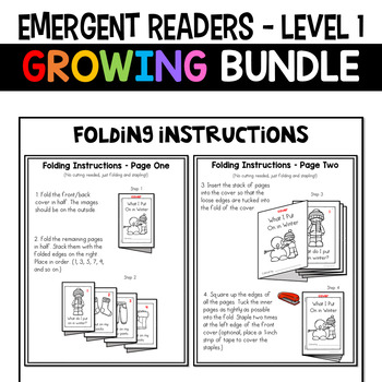 Emergent Readers: Level 1 - ENDLESS GROWING BUNDLE