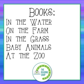 Emergent Readers - Animals - BUNDLE - Little Books