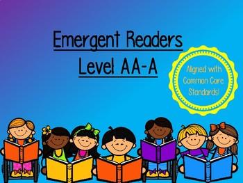 Emergent Readers Level AA-A