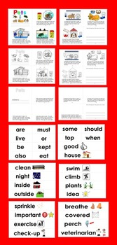 Pets:  Differentiated Readers with 3 Reading Levels + Illustrated Vocab Cards
