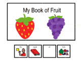 Emergent Readers:  My Book of Fruit
