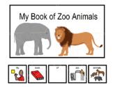 Emergent Readers:  My Book of Zoo Animals