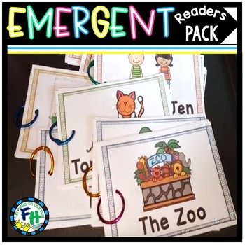 Emergent Readers Pack #1