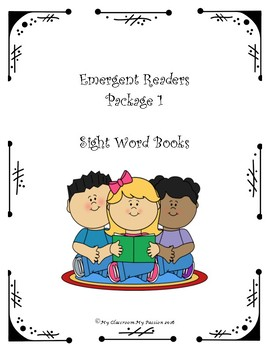 Emergent Readers Package 1