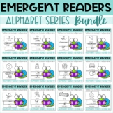 Emergent Readers Printable Mini Books with Alphabets A to Z COMPLETE BUNDLE