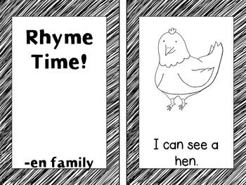 Emergent Readers - Rhyme Time Short e