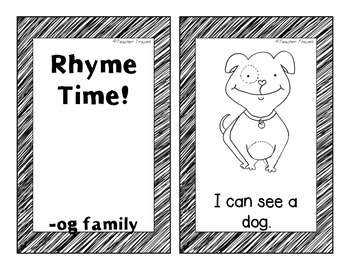 Emergent Readers - Rhyme Time Short o