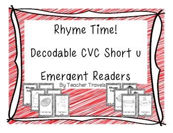 Emergent Readers - Rhyme Time Short u