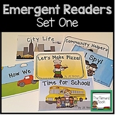 Kindergarten Emergent Readers Set #1