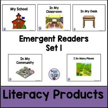 Emergent Readers Set 1 bundle