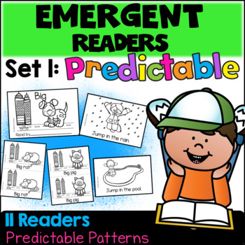 Emergent Readers: Set 1 - Predictable Books