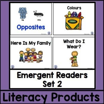 Emergent Readers Set 2 bundle