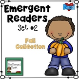 Emergent Readers Set- Halloween and Fire Safety