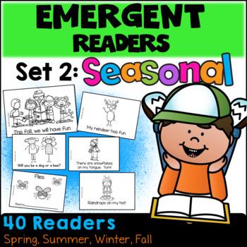 Emergent Readers: Set 2 - Seasonal Books  (Spring, Summer, Fall, Winter)