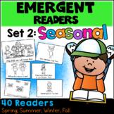 Emergent Readers: Set 2 - Seasonal Books  (Distance Learning)