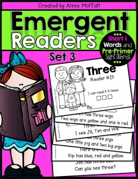 Emergent Readers Set 3