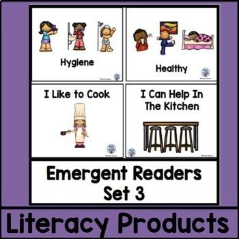 Emergent Readers Set 3 bundle