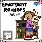 Emergent Readers Set #3- Animals!