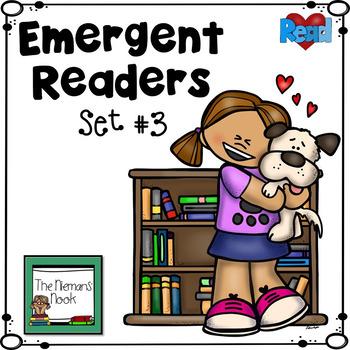 Emergent Readers Set #3- Animals!