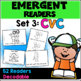 Emergent Readers: Set 3 - CVC Books
