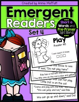 Emergent Readers Set 4