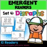 Emergent Readers: Set 4 - Digraphs Books
