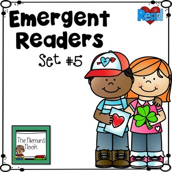 Emergent Readers Set #5- February & March Themes