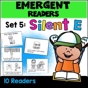 Emergent Readers: Set 5 - Silent E Books