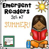 Summer Emergent Readers- Set #7