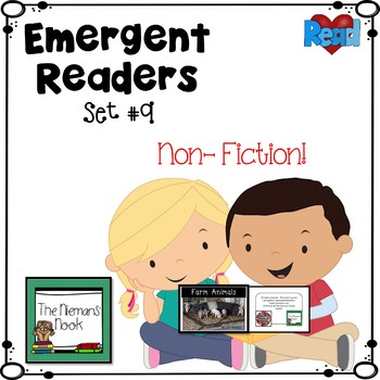 Emergent Readers Set #9- Non Fiction Readers