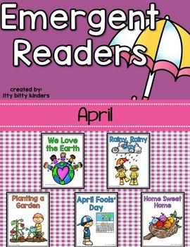 Emergent Readers Set for April, Spring